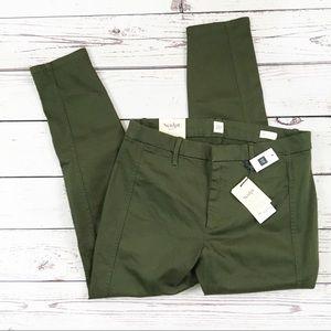 Gap high rise leggings sculpt twill green 14 NWT